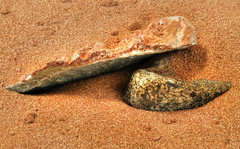 Red Earth (arbyreed) Tags: arbyreed macromondays fourelements sand redsand rock close closeup sandy