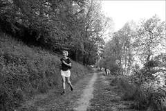 Torino 0573 (malko59) Tags: torino turin street streetphotography biancoenero blackandwhite running runner fujifilmxseries fujifilmxt1