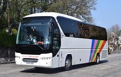 OU17OSD  Cavendish, Porth (highlandreiver) Tags: ou17osd ou17 osd cavendish coaches porth neoplan tourliner bus coach edinburgh
