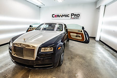 The Works Auto Center New Shop (shiftdnb) Tags: albany nikon d3s theworksautocenter detailing ceramicpro rollsroyce nikkor veteranowned wraith ny