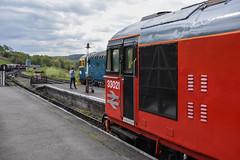 33021 (47843 Vulcan) Tags: churnetvalleyrailway dieselgala33021 33102 eastleigh sophie crompton class33 sulzer