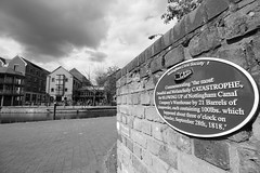 06 May 2019 Nottingham (38) (AJ Yakstrangler) Tags: nottingham yakstrangler canal plaque