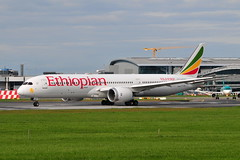 ET-AUO Boeing 787-9 Ethiopian Airlines (eigjb) Tags: dublin airport eidw collinstown international ireland plane spotting jet transport airliner aircraft airplane aeroplane aviation 2019 etauo boeing 7879 ethiopian b787 787 dreamliner airlines et713