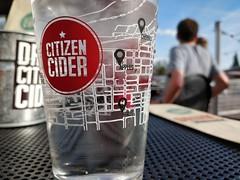 Citizen Cider Glass (LunchboxLarry) Tags: btv burlington vermont lakechamplain summer may 802life