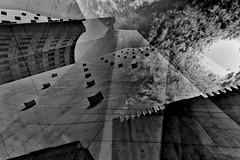 Strategies Against Architecture XII (Tom Putzke) Tags: architektur gerlingquartier städte köln clouds wolken himmel sky licht fassade fassaden cladding monochrom monochrome einfarbig doppelbelichtung schwarz weiss stadt cologne colonia nrw deutschland