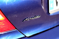 m9 (Mescola.dg) Tags: ford mondeo 24v rs 6 azul photo madrid spain españa racing