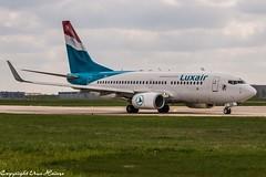Luxair LX-LGQ (U. Heinze) Tags: aircraft airlines airways airplane planespotting plane flugzeug nikon d610 nikon28300mm hannoverlangenhagenairporthaj haj eddv