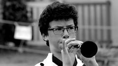 Bagad An Eor Du Ploudalmézeau (patrick_milan) Tags: bagad an eor du ploudalmézeau man musician plouguin saint pabu smile saturday musicinbw smileonsaturday