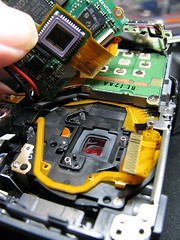 Canon A590 - DIY - infrared (JSB PHOTOGRAPHS) Tags: diyinfrared img0254 canon a590 diy infrared fullspectrum infraredconvertedcamera fix takeapart powershot