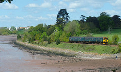 150265 Lympstone (Marky7890) Tags: gwr 150265 class150 sprinter 2t18 lympstonevillage railway devon avocetline train