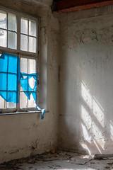 blue (=Mirjam=) Tags: nikond750 urbex abandoned fadedglory indoors verval schaduw licht windows light shadows mei 2019