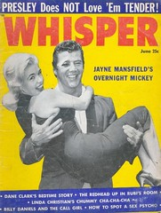 Jayne Mansfield en Mickey Hargitay - Whisper (poedie1984) Tags: jayne mansfield vera palmer blonde old hollywood bombshell vintage babe pin up actress beautiful model beauty hot girl classic sex symbol movie movies star glamour girls icon sexy cute body bomb 50s 60s famous film celebrities pink rose filmstar filmster diva superstar amazing wonderful american goddess mannequin black white tribute blond sweater cine cinema screen gorgeous legendary iconic magazine covers color colors whisper mickey hargitay miklós miklos budapest hungary mr universe jurk dress lippenstift lipstick