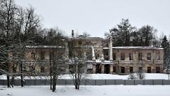 Peter III Palace and Ropsha Manor. 2015 (anytime-anywhere) Tags: palace 2015 winter january nikon
