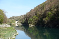 Pont Carnot @ Walk along the Rhône @ Hike to Le Vuache (*_*) Tags: randonnee nature montagne mountain hiking walk marche 2019 printemps spring april jura vuache savoie europe france ain leaz river rhone