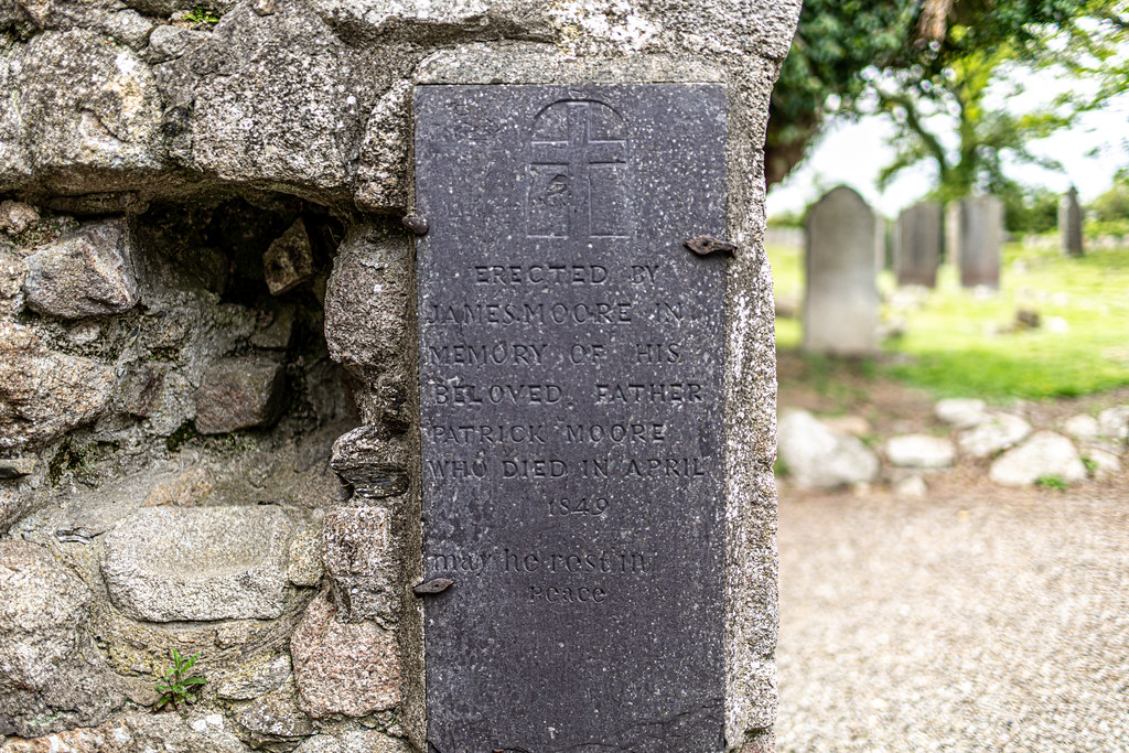 TULLY CHURCH AND CHURCHYARD [LEHAUNSTOWN LANE DUBLIN]-152362