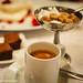 Café & son brownie à