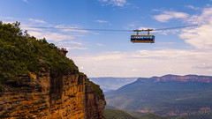 Thrill ride @ The blue mountains national park