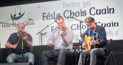 Tony DeMarco, Dylan Foley & Eamon O'Leary in the Grand Concert in the Parochial Hall, Louisburgh 4 May 2019 (Diego Sideburns) Tags: 25thféilechoiscuain féilechoiscuain comayo louisburgh ireland traditionalirishmusic