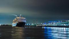Bon Voyage! (aotaro) Tags: ilce7m3 cruiseship nightphotography yokohama departure bonvoyage portofyokohama night ocean fe1635mmf4zaoss japan sea osanbashipier westerdam farewell