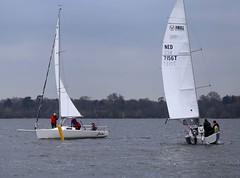 J80 gets ahead (antrimboatclub) Tags: spinnaker atlantic challenge antrimboatclub boat sail sailing ireland sixmilewater loughneagh antrimbay antrim