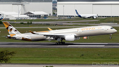 Etihad A350-1041 msn 290 (dn280tls) Tags: a350 a3501000 etihad a3501041 msn 290 a35k fwzni a6xwb