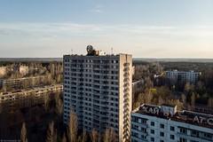 Prypjat, Tschernobyl. (maecces) Tags: luftbild drohne ukraine tschernobyl prypjat lost abandoned dji mavicair