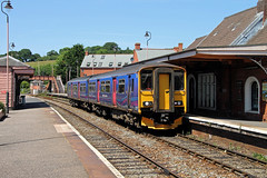 150265 Crediton (CD Sansome) Tags: crediton station train trains first great western railway fgw gwr 150265 150 sprinter