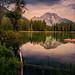 Leigh Lake, Morning