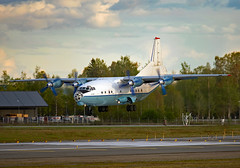 UR-CBG (Skidmarks_1) Tags: urcbg cavokair an12bp antonov engm norway osl oslogardermoenairport aviation aircraft airport airliners cargo freighter