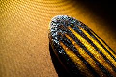 Tip of a wooden artwork (christos.tsiapalis) Tags: 365 boomerang macro macrounlimited