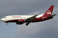 EI-UNH 13042013 (Tristar1011) Tags: ebbr bru brusselsairport transaeroairlines boeing 737500 b735 eiunh