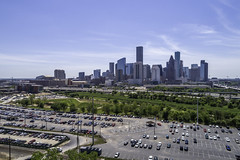 Downtown Houston Skyline 03272019 - Near Northside (Mabry Campbell) Tags: dji harriscounty houston texas aerial buildings downtown image photo photograph skyline f45 mabrycampbell march 2019 march272019 20190327downtowncampbelldji0014 88mm ¹⁄₁₆₀₀sec 100 24mm