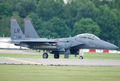 USAFE F-15E 91-0316 (Craig S Martin) Tags: usafe boeing f15e strike eagle 910316 raf lakenheath strikeeagle raflakenheath aviation aircraft airplane jet military usaf