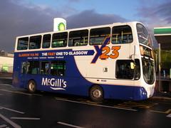 McGills I6910 X23SLF (preselected) Tags: bus coach daf sb250lf wright gemini eclipse arriva london dw129 mcgills greenock i6910