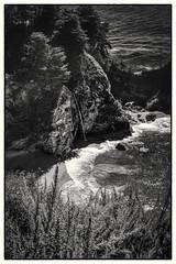 Big Sur McWay Falls (CDay DaytimeStudios w /1 Million views) Tags: ca california highway1 ocean landscape bigsur mountains water coastline hills pacificcoasthighway pacificcoast bluesky