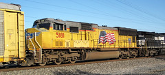 Union Pacific Railroad # 5181 diesel locomotive (Columbus, Ohio, USA) (James St. John) Tags: