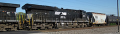 Norfolk Southern Railway # 3672 diesel locomotive (Columbus, Ohio, USA) (James St. John) Tags: