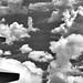 Pillars of Clouds (Black & White)
