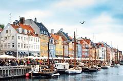 The iconic Nyhavn waterfront (sarabernheisel) Tags: nyhavn travel denmark copenhagen