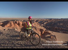 Bicycling above the Valle Luna Moon Valley, San Pedro de Atacama, Chile (jitenshaman) Tags: travel worldtravel destination destinations southamerica latinamerica chile atacama sanpedrodeatacama nortegrande desert altiplano plains mountain mountains landscape landscapes scenery nature outdoors natural view vista moonscape colours colors colour color arid dry deserts rocks formations valley naturallandscape naturesbeauty beautiful desolate stark tourism touristattraction desertscape eerie moon wilderness moonvalley valledelaluna bike bicycle bicycling cycle cycles adventure adventuresports female tourist