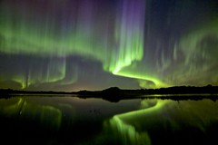 The moment of truth (John Andersen (JPAndersen images)) Tags: alberta aurora madden night