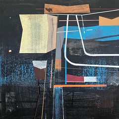Jim Harris: The American Night. (Jim Harris: Artist.) Tags: art geometric kunst modern maalaus malerei málverk målning modernart avantgarde abstractart