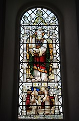 Stained Glass at St Mary's, Fishguard - Pembs -010419 (8) (Ann Collier Wildlife & General Photographer) Tags: stainedglasswindows fishguard stainedglasswindow churchwindows churches stmaryschurch pembs wales uk artwork art
