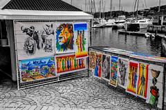 African Art (Johann (Still Me!)) Tags: colour waterfront knysna knysnawaterfront dullday africanart makemesmile johanndejager ef24105mmf4lisiiusm canoneos5dmarkiv simplysuperb