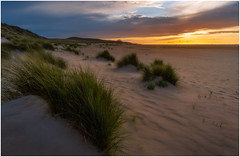 The beach (Rob Schop) Tags: beach maasvlakte sunset clouds seascape light composition triangle sonya6000 orton nofilters hdr bracket pscc lrcc sand wideangle samyang12mmf20 f11