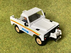 Britains Ltd  - 9691 - Land Rover Pick Up - Police - Miniature Diecast Metal Scale Model Emergency Services Vehicle (firehouse.ie) Tags: vintage voiture vehicules vehicule vehicles vehicle britains9691 9691 1980 polizia polizei policja policia toys toy miniatures miniature models model metal 4x4 landie britishleyland bl rover landrover police britains