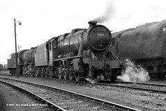 c.1964 - York (50A) MPD. (53A Models) Tags: britishrailways stanier lms 8f 280 48266 steam york 50a mpd train railway locomotive railroad