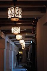 Sidewalk Lanterns (michael.veltman) Tags: doha qatar sidewalk lanterns