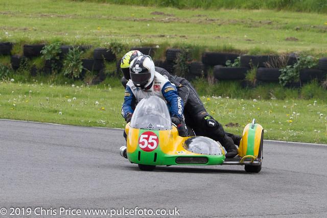 CRMC Pembrey 2019 Race 35 Classic SIdecars