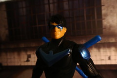 Batman missions Nightwing (act fotoes) Tags: nightwing dc toy mattel batman missions dick grayson